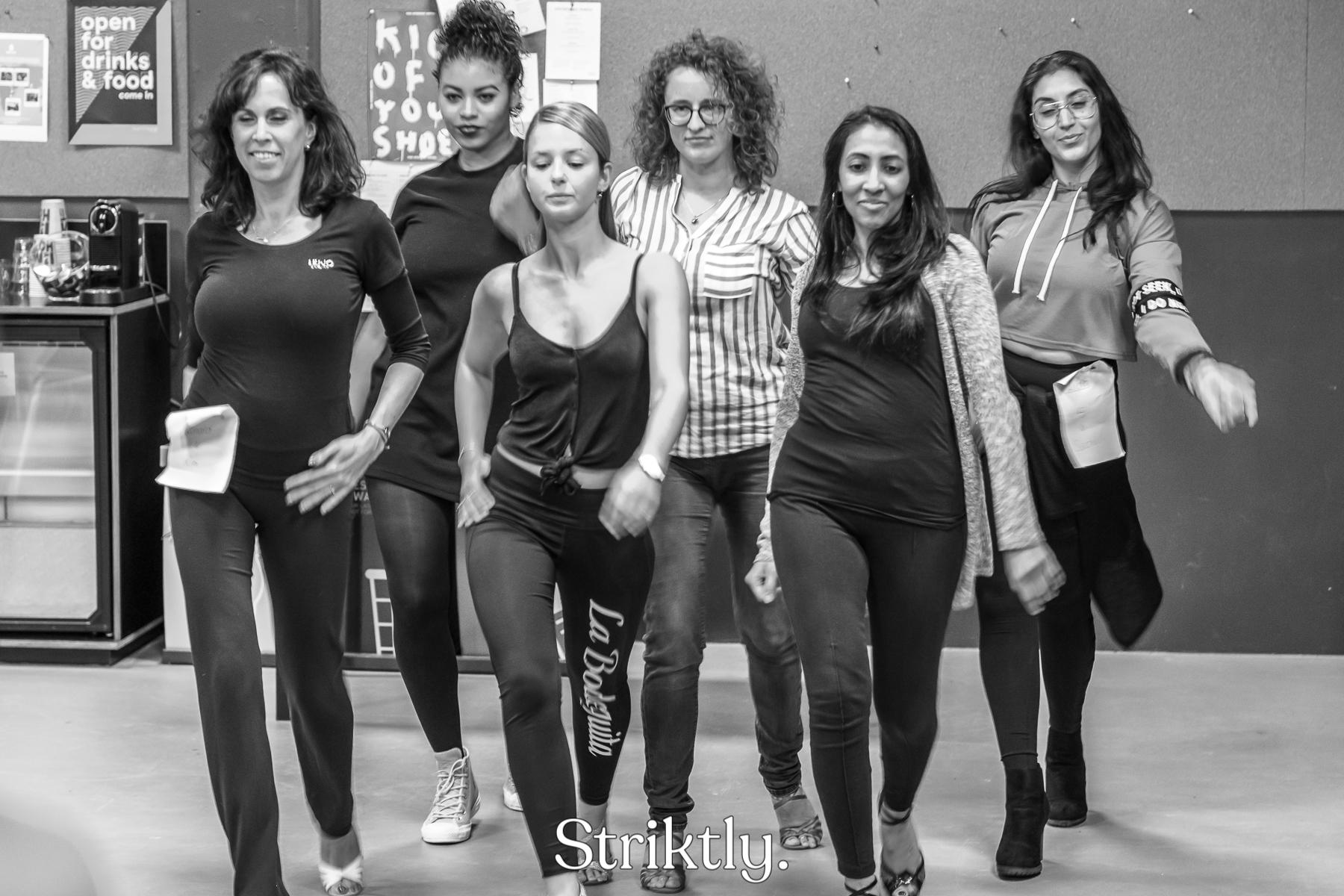 Striktly Dancewear - Dancewalk practice