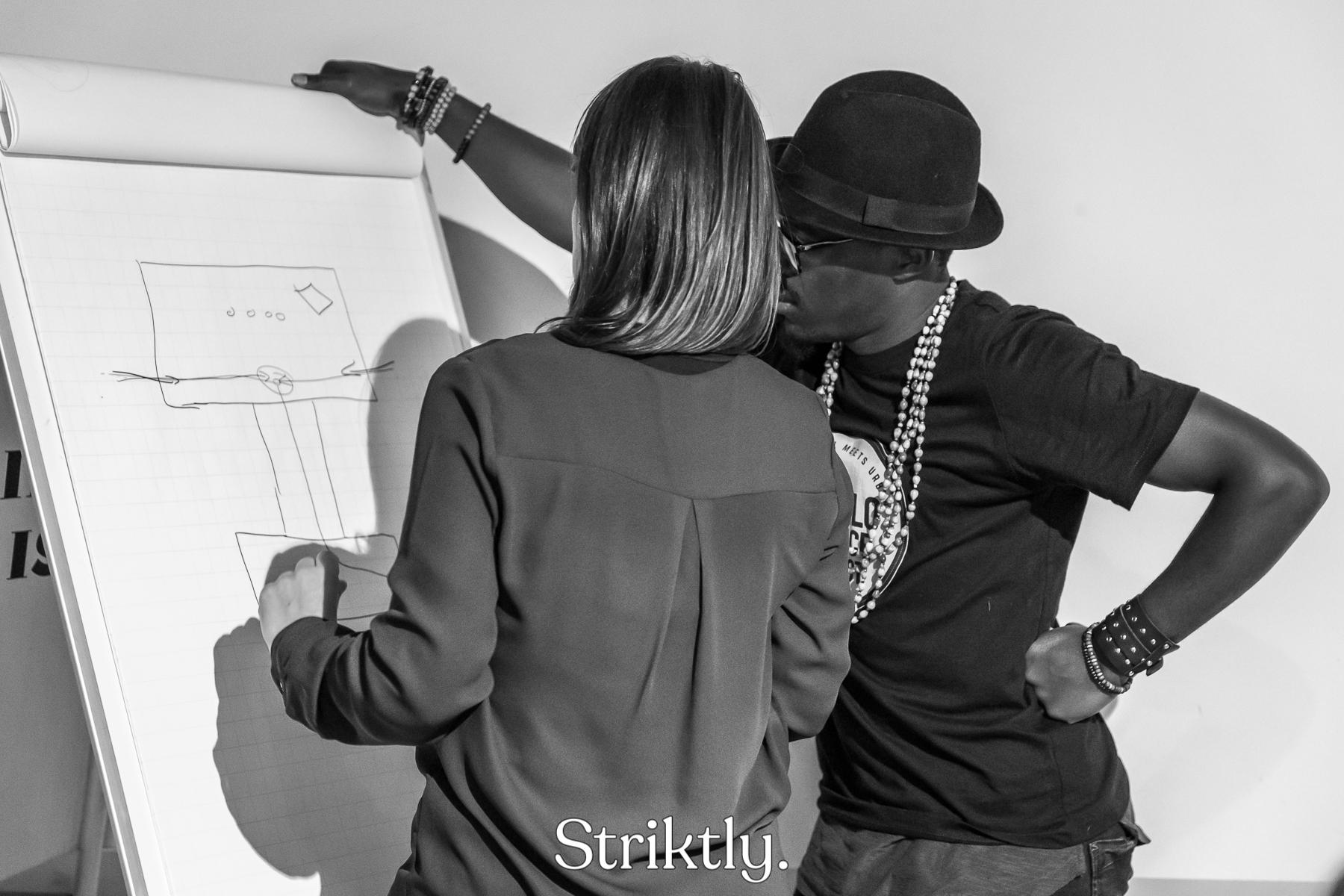 Voorbereiding Striktly Danceable Fashion Contest 2018