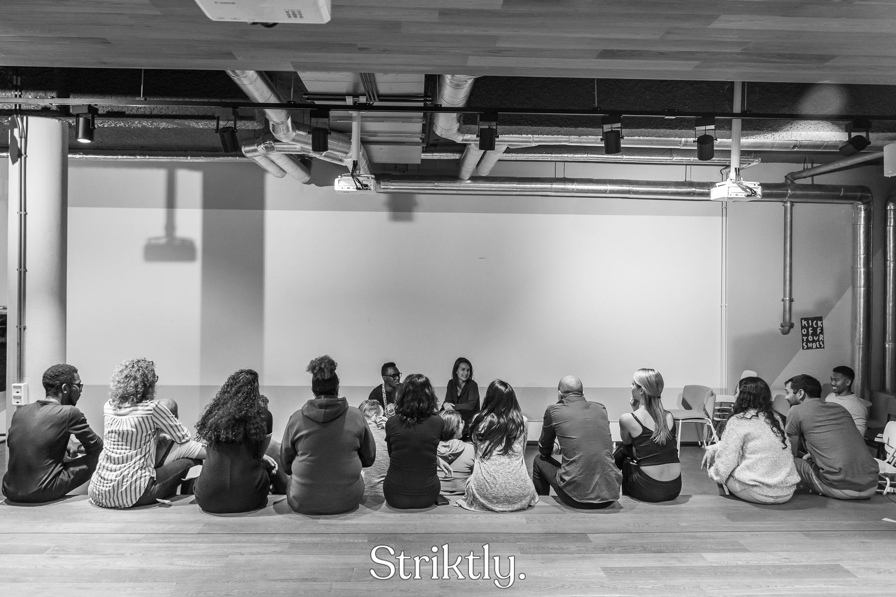 Training Striktly's Dancewalk