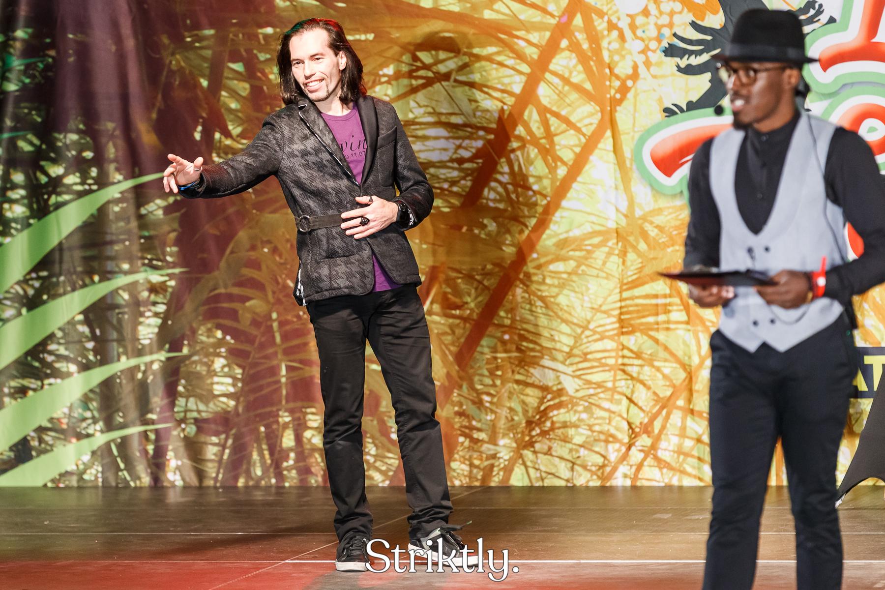Irving Koster en Keanz Recab Striktly Dancewalk