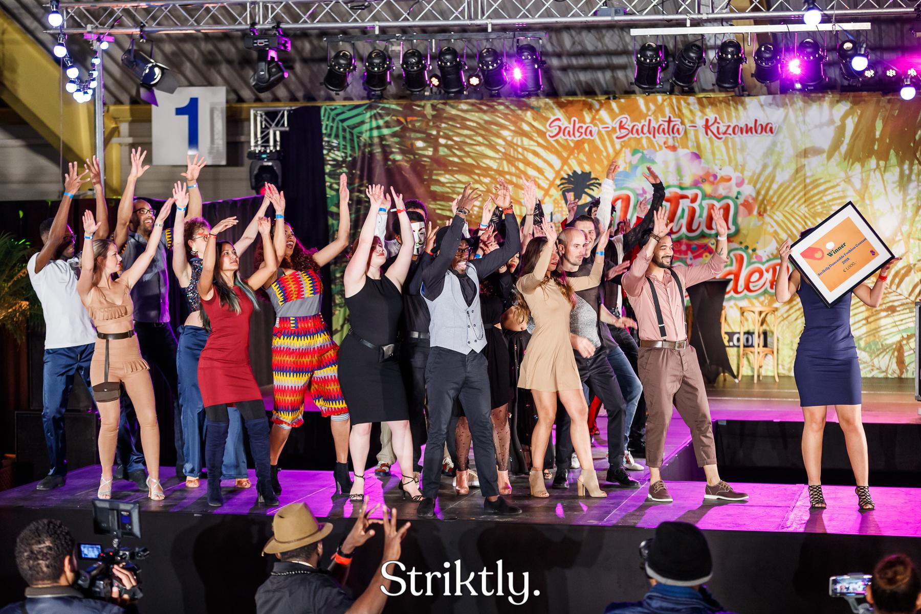 Striktly Danceable Fashion Contest winner 2018